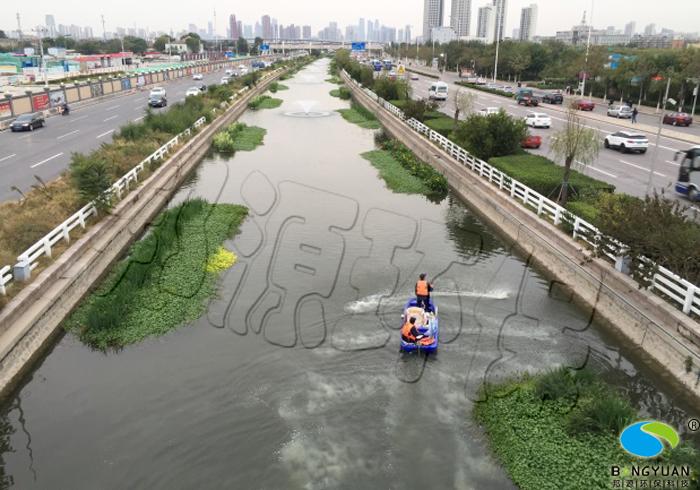 張貴莊河施工照片