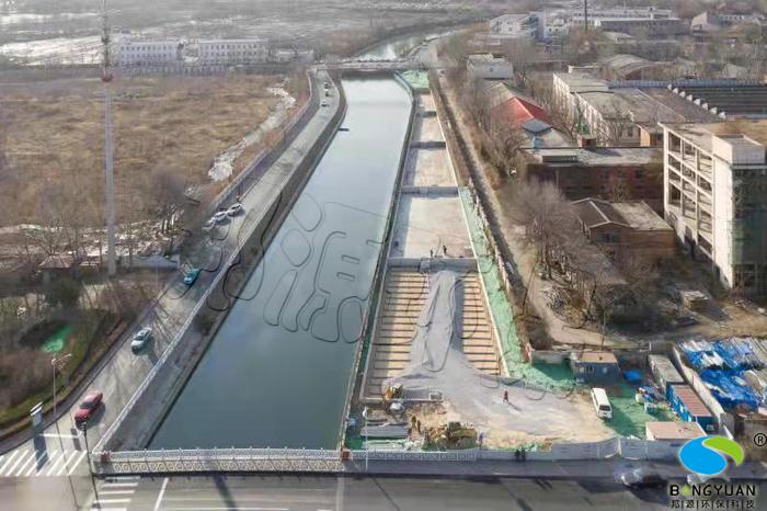 海绵城市建设复兴河长泰河水环境生态修复工程施工前