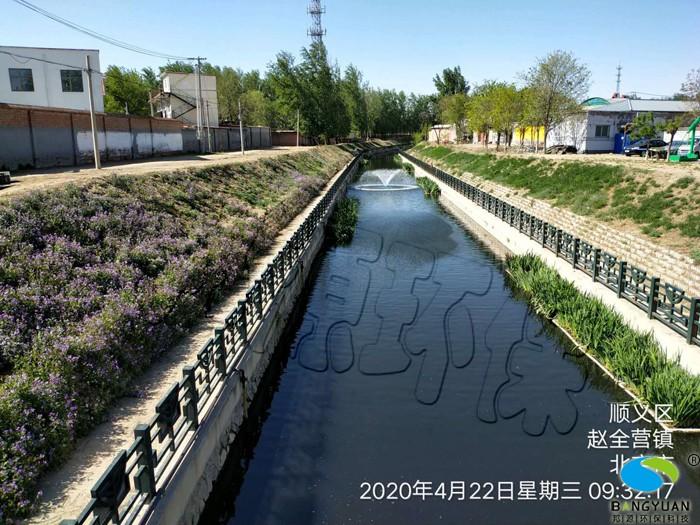 水環境綜合治理后,水體透明度大幅度提升,水體景觀效果良好
