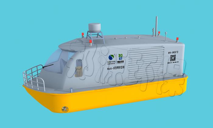 Multi F水治理智慧船