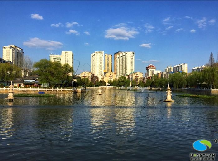 多種結束打組合拳,打造月牙湖、石塔湖完美水環境